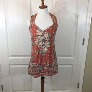 Anthropologie Ecoté S Floral Tapestry Dress